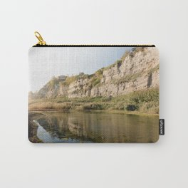 beautful reflection in Torrefumo lake in the bay of Naples Carry-All Pouch
