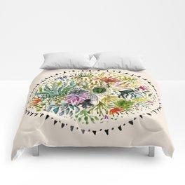 Succulents Mandala Comforters