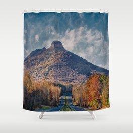 Pilot Mountain Shower Curtain