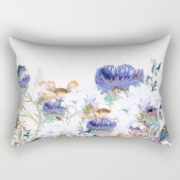 Morning field. Fresh and beauitful Rectangular Pillow
