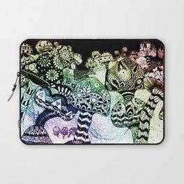 Mushroom Field Laptop Sleeve