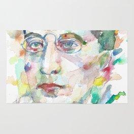 CONSTANTINE P. CAVAFY - watercolor portrait.1 Rug