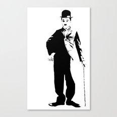 Chaplin Canvas Print