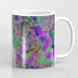 Solar Eclipse, Violet Green Coffee Mug