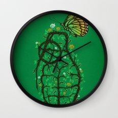 create & destroy Wall Clock