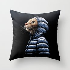 COOL CAT Throw Pillow