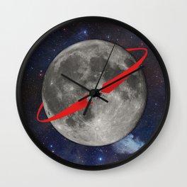 Lunar Lander Wall Clock