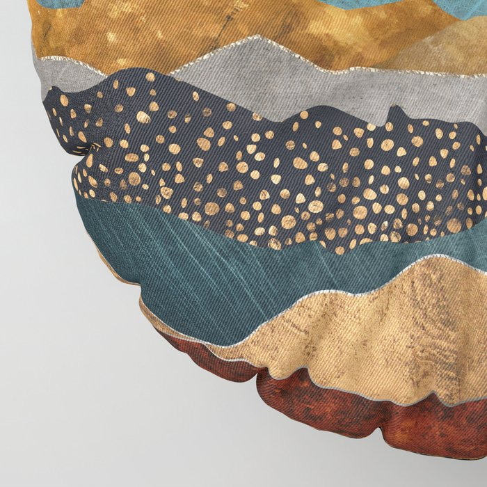 Amber Dusk Floor Pillow