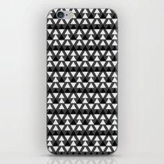Black & White Triangles iPhone & iPod Skin