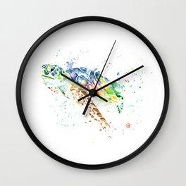 Turtle - Snap Wall Clock