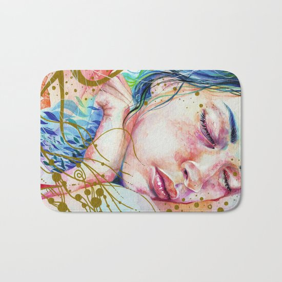 Golden Dreams Bath Mat