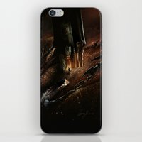 smaug iPhone & iPod Skins featuring The Desolation of Smaug by Artechniq
