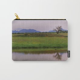 Serenity sunset at the lagoon. Spring dreams Carry-All Pouch
