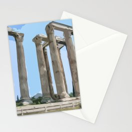 Temple of Olympian Zeus - Athens Stationery Cards