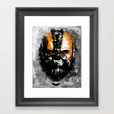 Bane Rhymes with Pain Framed Art Print