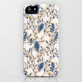 Flax Meadow III iPhone Case