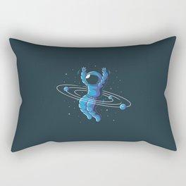 Space Hula Hoop Rectangular Pillow