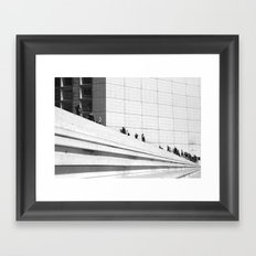 Following Framed Art Print