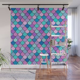 Sparkle Scales Wall Mural