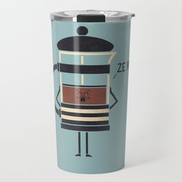 French Press Travel Mug