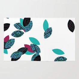 Aztec leafs Ioo Rug