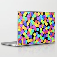 confetti Laptop & iPad Skins featuring Confetti by The Wellington Boot