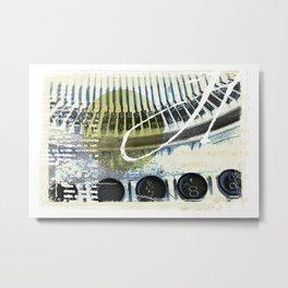 Typo Metal Print