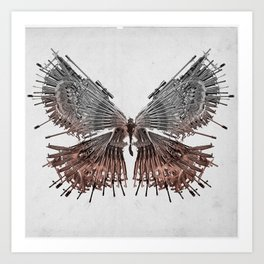 Gunwings Art Print
