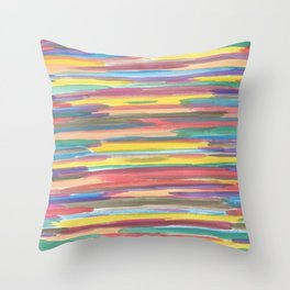 Rainbow Spectrum Throw Pillow