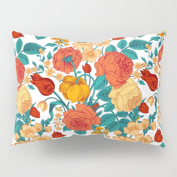 Vintage flower garden Pillow Sham