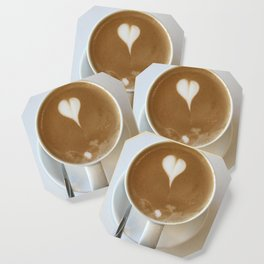 Hot Coffee Love Coaster