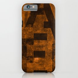 Lager Beer Typography iPhone Case