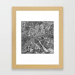 Space Templar Protectors 1 Framed Art Print
