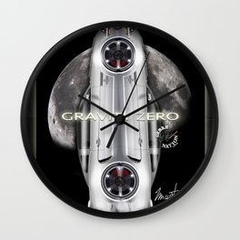 American Super Machines - Mustang Wall Clock