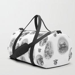The Transformation: Elise the Unicorn Duffle Bag