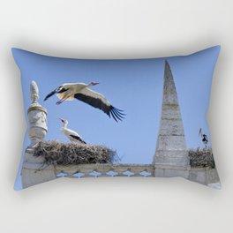 Faro storks Rectangular Pillow