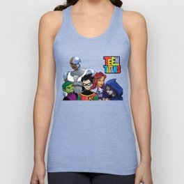 Teen Titans Unisex Tank Top