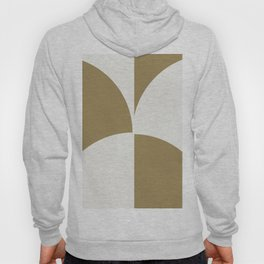 Diamond Series Round Checkers White on Gold Hoody