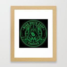 Mind Units Corp - Purifier Enlightened Version Framed Art Print
