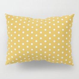 Pink Polka Mustard Pillow Sham