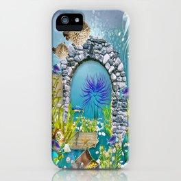 Unterwasserlandschaft iPhone Case
