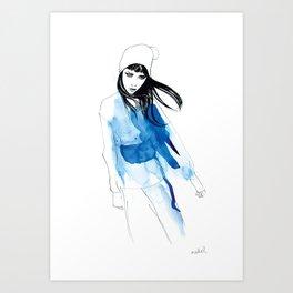 Gina Art Print