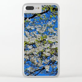Bountiful Blooms Clear iPhone Case