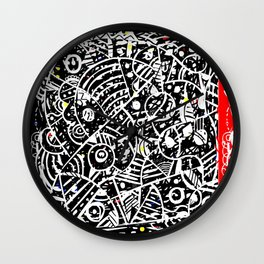 Holy Moly 03 Wall Clock