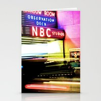 30 rock Stationery Cards featuring 30 ROCK by grsphoto