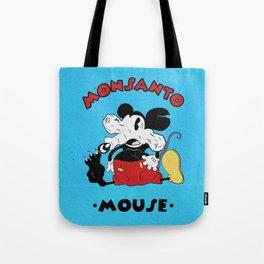 Monsanto Mouse Tote Bag