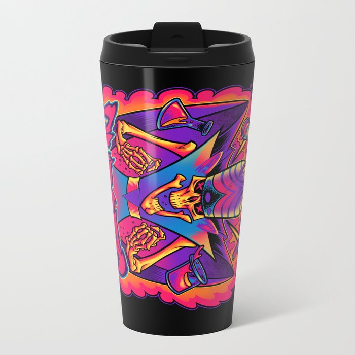 MOJO JOJO: CURSES Metal Travel Mug