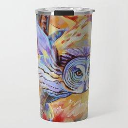 Gray Owl Travel Mug