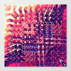 07-27-13 (Chandelier Glitch) Canvas Print