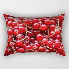 Red Berries Rectangular Pillow